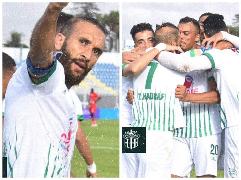 الدفاع الحسني الجديدي يحقق انتصاره الثاني على التوالي في البطولة