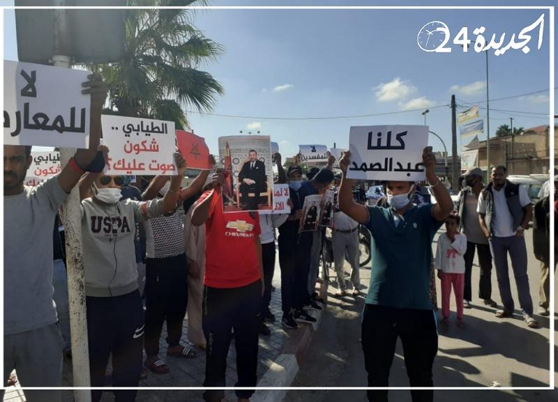 تزامنا مع وقفة احتجاجية للساكنة.. اعادة انتخاب جمال مدراني رئيسا لجماعة البئر الجديد