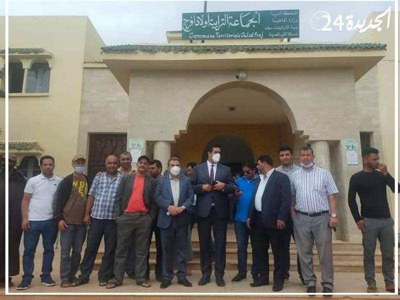 انتخاب عثمان الطرمونية رئيسا لجماعة أولاد فرج بالعلامة الكاملة وبدون معارضة