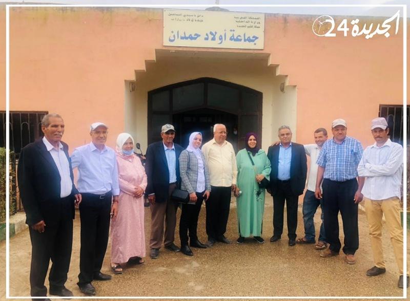 انتخاب الدكتور أكريم عبد اللطيف رئيسا لمجلس جماعة أولاد حمدان بإقليم الجديدة