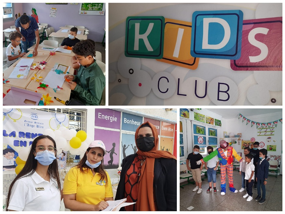 بالصور.. افتتاح نادي ''KIDS''بمؤسسة الملاك الأزرق الخصوصية بالجديدة