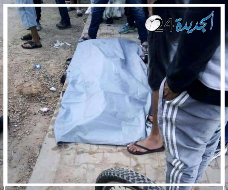 انتشال جثة طفل لقي مصرعه غرقا بنهر  أم الربيع بمدينة أزمور