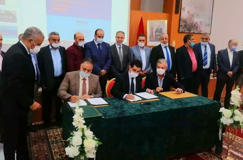 الدعم التربوي موضوع اتفاقية بين مديرية التعليم بالجديدة والـINDH وجمعية ''سندي