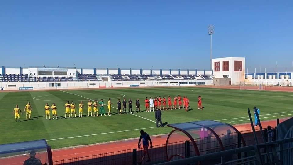 ملعب أحمد شكري بالزمامرة يحتضن مباراة في القسم الوطني الأول برسم الدورة السابعة